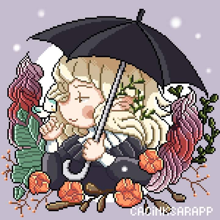 This year gonna be pixelart year for me. So, here another one for #drawthisinyourstyle #blanchiame