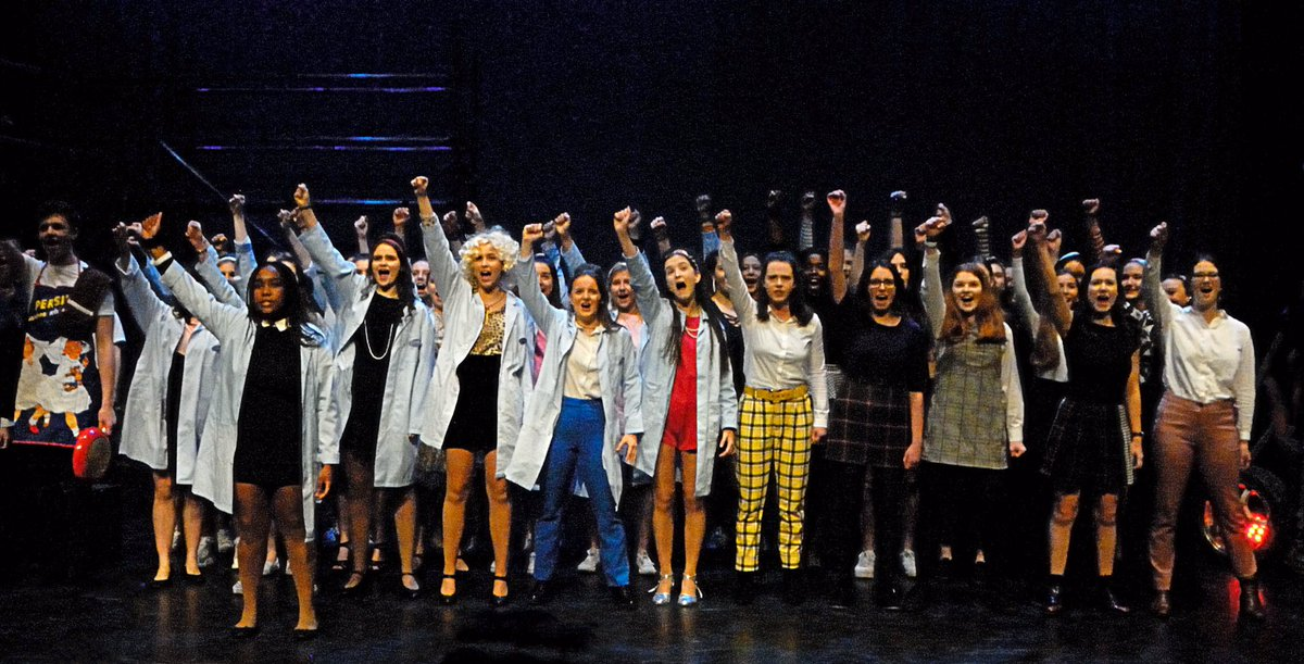 Dress rehearsal pics from our wonderful school show @alexcollege - Made in Dagenham- opens tonight 7.30pm! Tonight sold out, handful of tickets left for tomorrow. Brilliant cast,we are definitely #madeindagenham #madeinalex https://t.co/yJ9kfYiPP3
