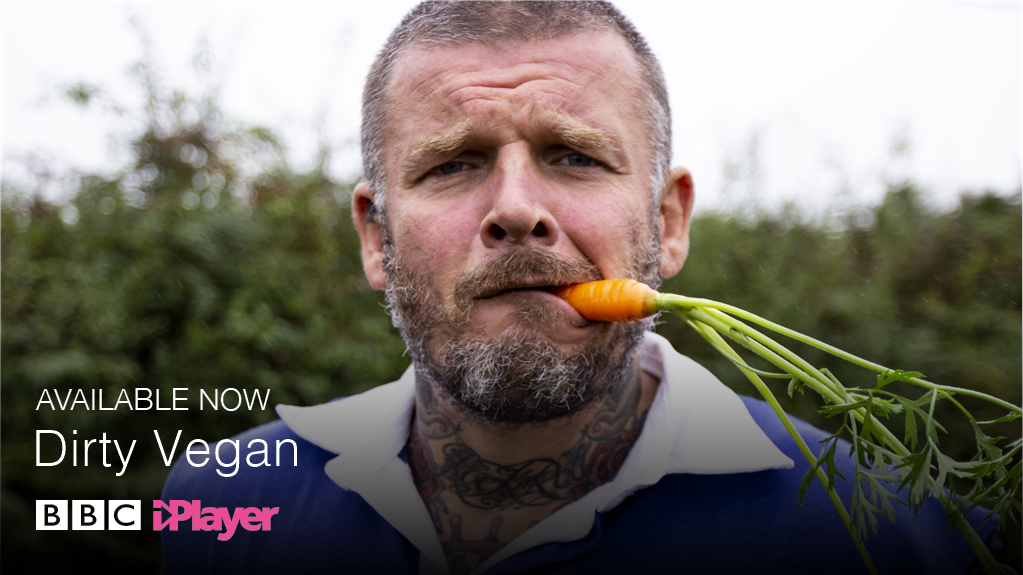 Looking for some vegan inspiration? 🤔  #DirtyVegan series Available now @BBCiPlayer 👉 https://t.co/wEar12i7WM