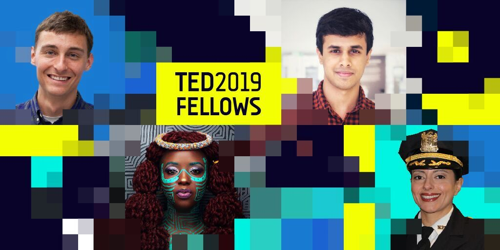 Congratulations to our extraordinary new class of TED Fellows! http://t.ted.com/j96yBHP @TEDFellow #TED2019