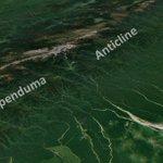 Image for the Tweet beginning: The Mapenduma Anticline, West Papua,