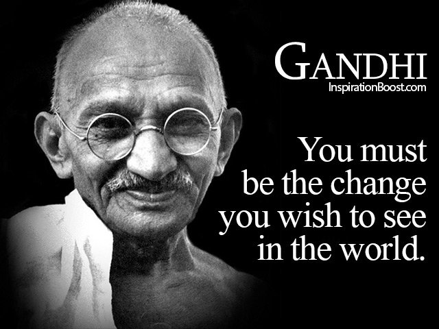 You must be the change you wish to see in the world. At TechMO, we want to be the CHANGE....make a difference and change one village at a time.pic.twitter.com/Of9A6kQTEr