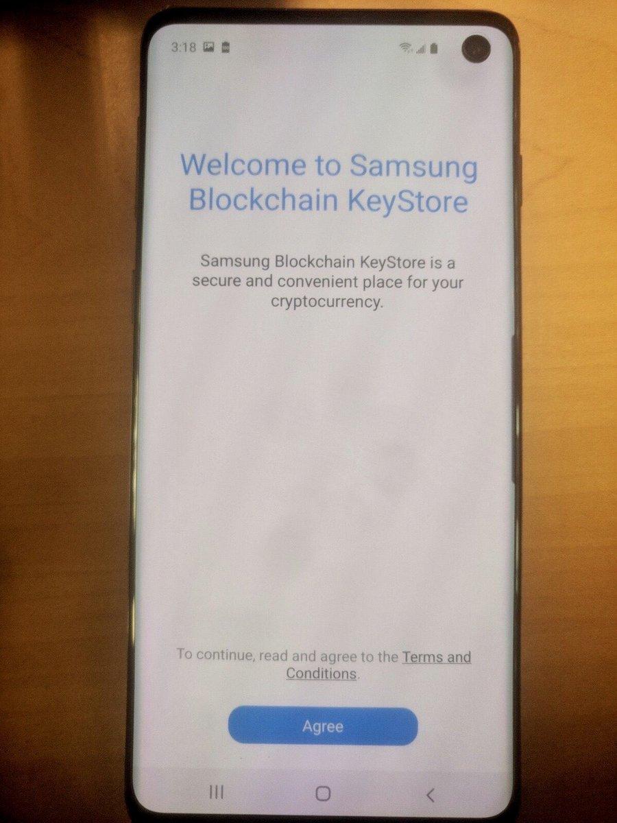 В Samsung S10 появится встроенный Bitcoin-кошелек