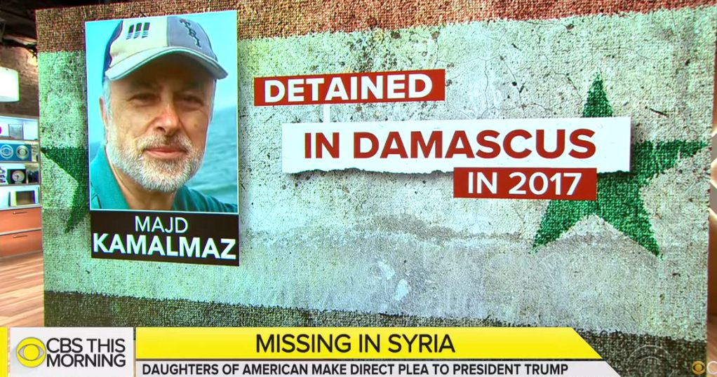 MY FRIEND KIDNAPPED IN SYRIA: Just learned that my friend Majd Kamalmaz has been detained by Syria's government for 2 years...He is an American Muslim psychologist who has helped PTSD victims all over the world...Watch @CBSNews Story Here & Please Share: http://bit.ly/2UflGZH