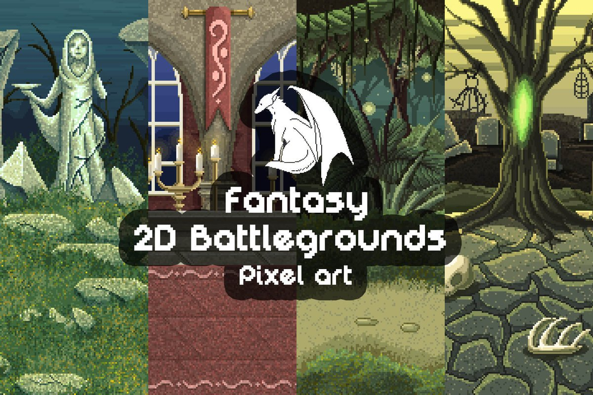 2D Game Assets on Twitter:
