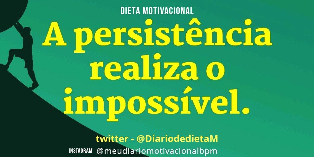 Dieta Motivacional On Twitter Disciplina Esforço