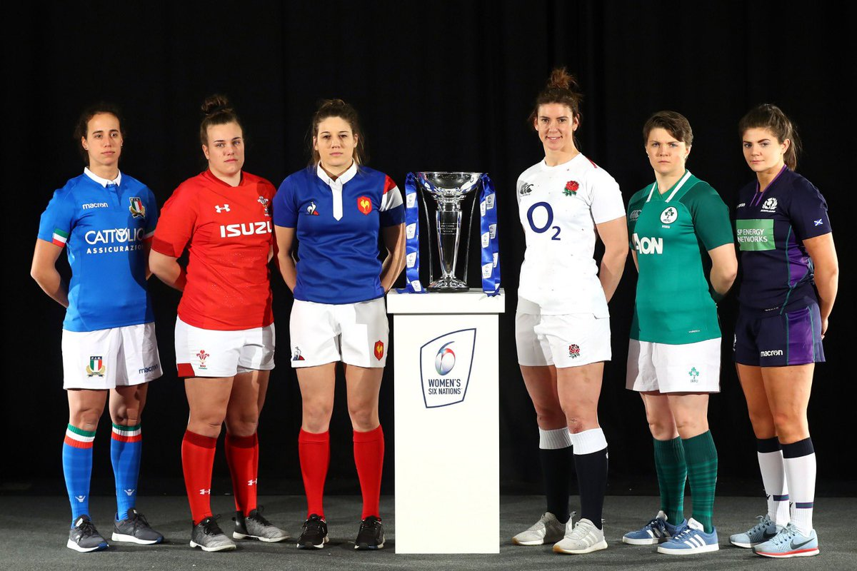 test Twitter Media - Captain @sarah_hunter8 at today's @Womens6Nations launch 📸  Get behind the #RedRoses this championship. Tickets via https://t.co/deLqfzOzRX 🎫 https://t.co/3mua2OoUnB
