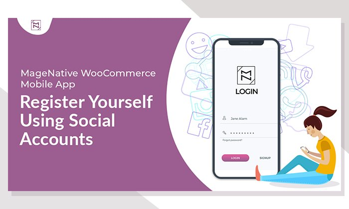 With MageNative WooCommerce Mobile App Users can login to app with multiple social identities. 30 Days Free Trial. Get Your Own:-  https:// buff.ly/2NtZwUk      #MobileApp #MageNative #WooCommerceApp #Android #mCommerce #eCommerce #Sociallogin #MagentoApp #ShopifyApp<br>http://pic.twitter.com/m4WtB4MEeA