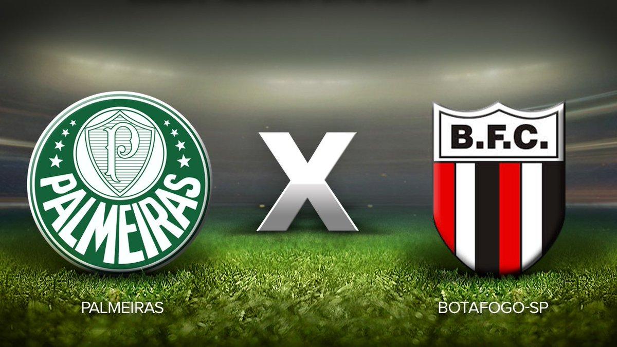 9f0fe3be25 TEMPO REAL  acompanhe Palmeiras x Botafogo-SP pelo Paulista https   t