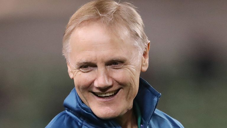 "test Twitter Media - Schmidt braced for Jones' verbals 🏉  🗣️ Joe Schmidt is relishing Eddie Jones' verbal ""grenades"" ahead of Ireland's ☘️ Six Nations opener against England 🏴󠁧󠁢󠁥󠁮󠁧󠁿  👉 More here: https://t.co/fzEuModoFo https://t.co/w4OrODpjto"