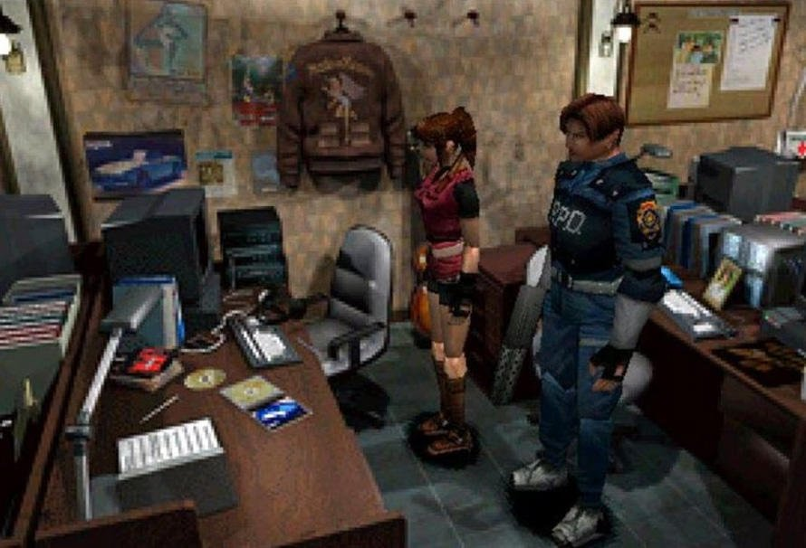 Green Man Gaming On Twitter Ps1 Skins For Claire Redfield And