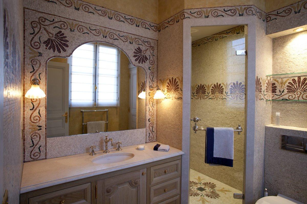 "Pierre Naturelle Salle De Bain sienna mosaica on twitter: ""salle be bain, mosaïques marbre"