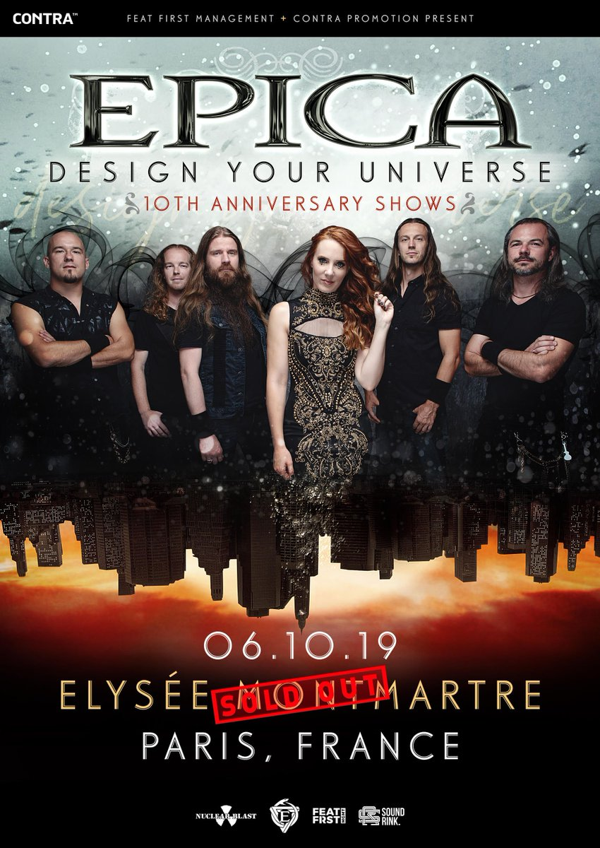 Wow! Our show this fall in Paris in support of the 10th Anniversary of Design Your Universe is sold out!! Lets make this one big party!