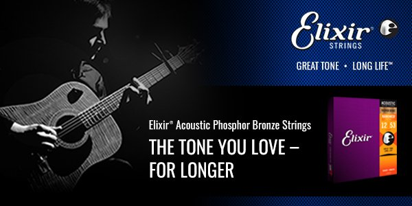 Who else uses strings from our sponsor @ElixirStrings on a daily? Like and RT if you do! http://bit.ly/2CHyK2L