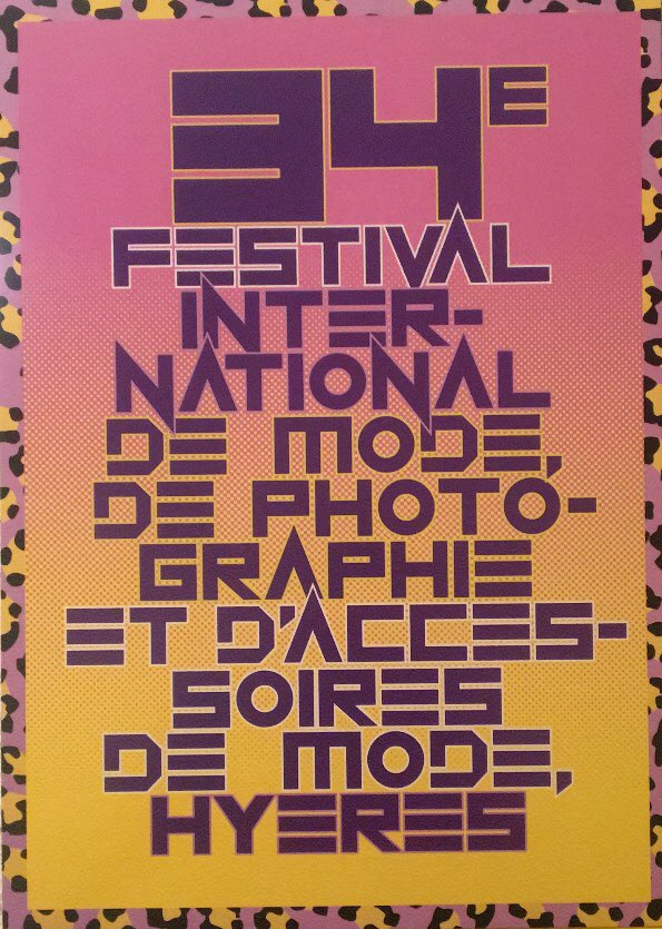 ... la révélation du Jury du 34ème Festival de Hyères 2019 avec Guillaume  Houzé au Jury  Mode et Clara Cornet au Jury   Accessoirespic.twitter.com q3RsEp2x2R a8e0d3c27a1