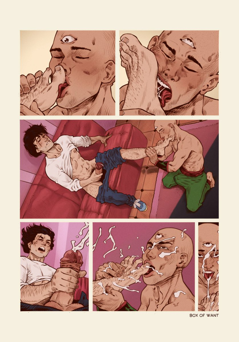 One page of comic in which Tien Shinan and Yamcha have some homoerotic fun.  Short, but intensely lived! #yaoi #dragonball #yamcha #tienshinan  #footfetish ...