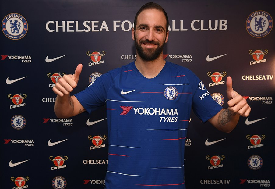 Dxn8hQYX4AkLQhP - 'I Don't Think Higuain Will Play Well In This League' – Chelsea Fans Say As They Express Pessimism About Their New Striker's Ability