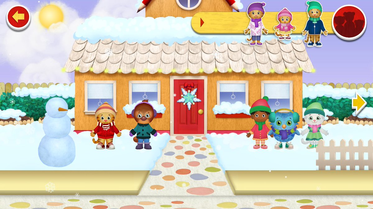 Fred Rogers Productions On Twitter Discover Winter In The Neighborhood Of Make Believe On Explore Danieltigertv You Little One Can Play In A Digital Dollhouse Visiting Different Locations In The Neighborhood Interacting