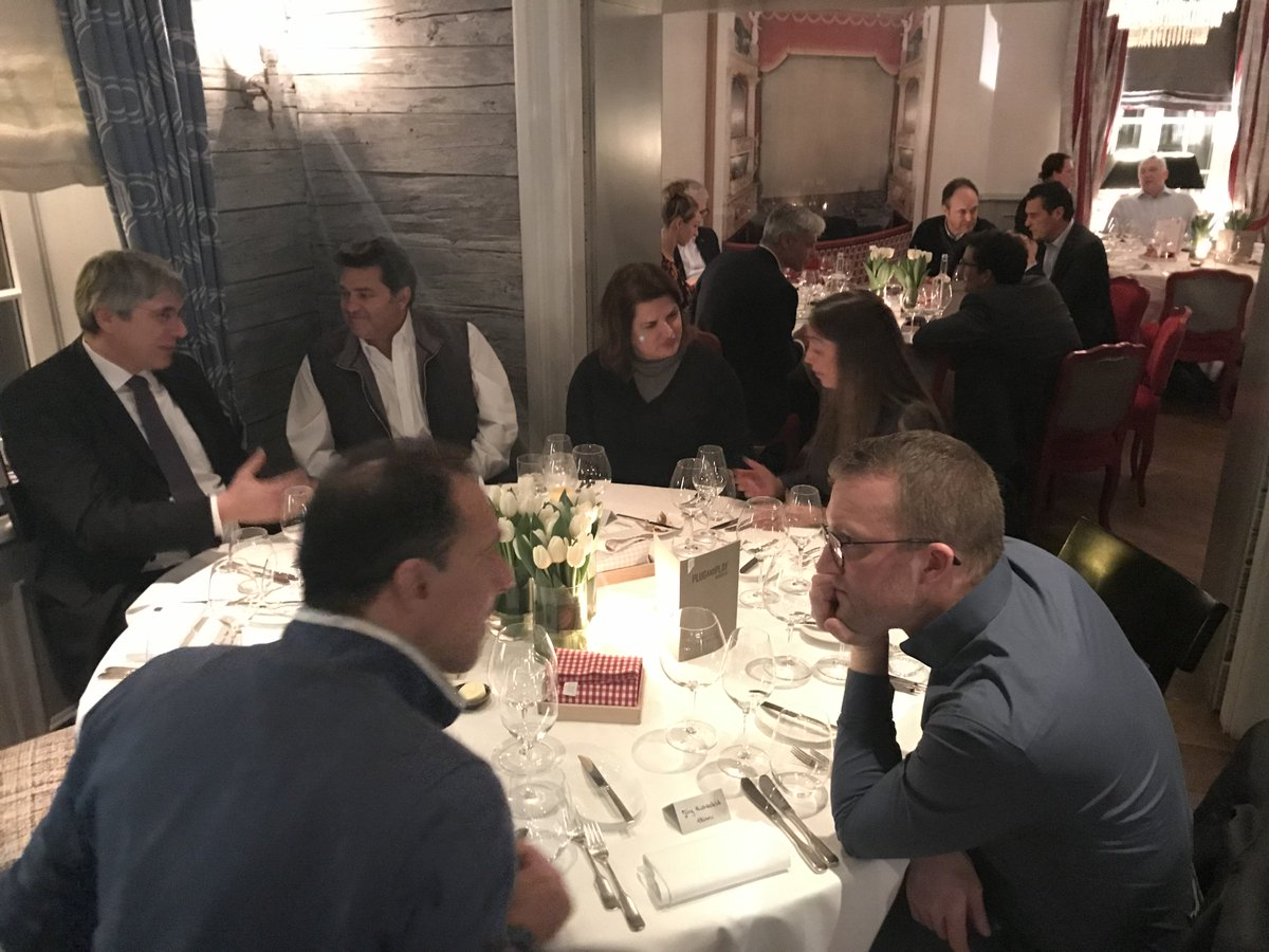 This week I'm in #Munich for our @StrtpCreasphere and @PnPinsurtech EXPO and I met up with a few of @pnpeurope's corporate partners for dinner last night. Thanks, @MunichRe, @Allianz, and @WTWhr for joining me. @pnphealth #insurtech #MUNwinterexpo2019 https://t.co/szMRZOO0vS