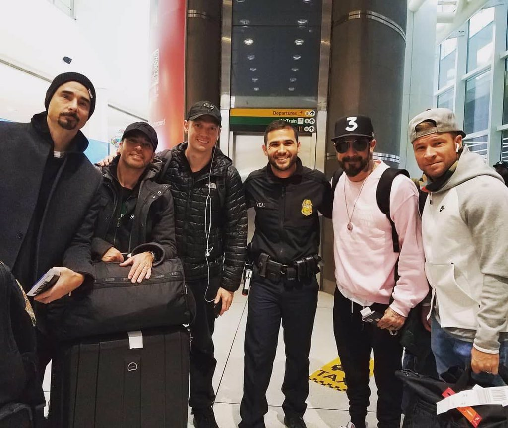 Safe travel back home to the best band ! -2 to Apocalypse!! Thank you for this great week we spent together in the land of rising sun! 2 days and our party begins! #DNA #BSB2019 #BSBDNA #BSBNewmusic @backstreetboys @kevinrichardson @nickcarter @howied @aj_mclean @brian_littrell<br>http://pic.twitter.com/cjEd1LSBbw