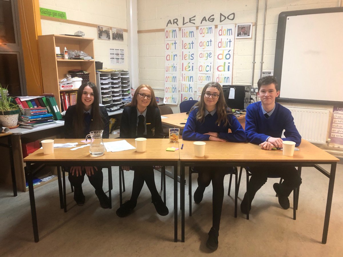 Great Work From ScoilMhuireB TY On Their Recent ConcernDebates Venture Dependable And Positive Students Who Worked Hard Reached For The Stars