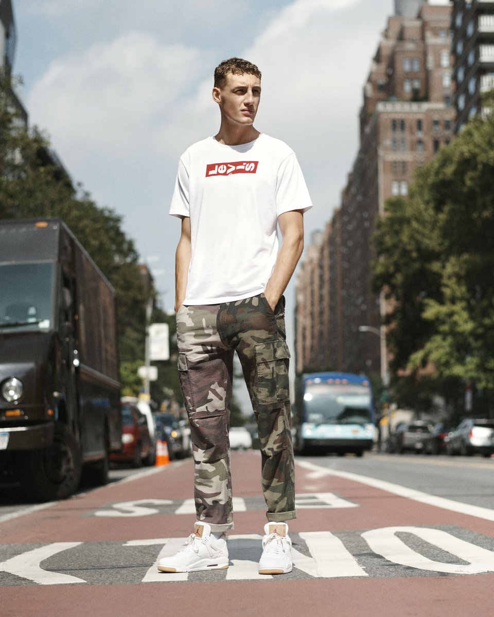Blending in or standing out. The Hi-Ball Roll is your tapered jean made to showcase your sneakers. Check it out. http://bit.ly/2FJ3xQL