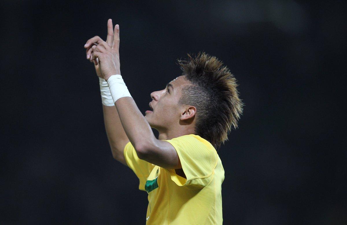 Neymar 2011 Hair