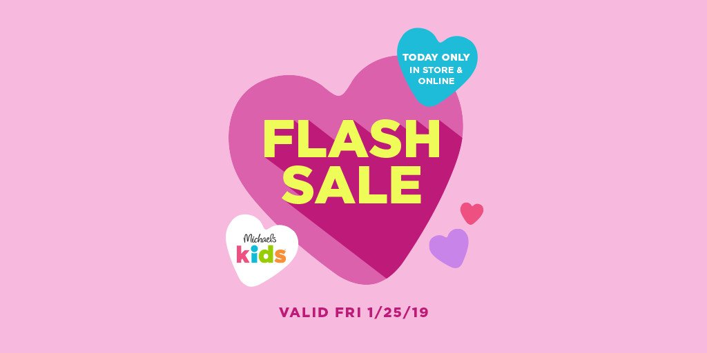 Michaels Stores On Twitter With Sweet Deals On Kids Craft Kits