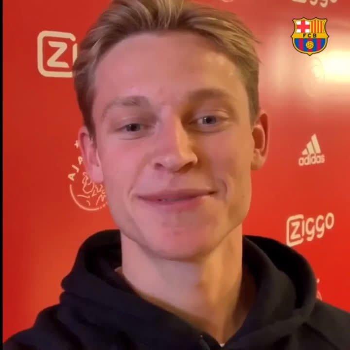 Frenkie de Jong to join Barcelona in €75m summer transfer