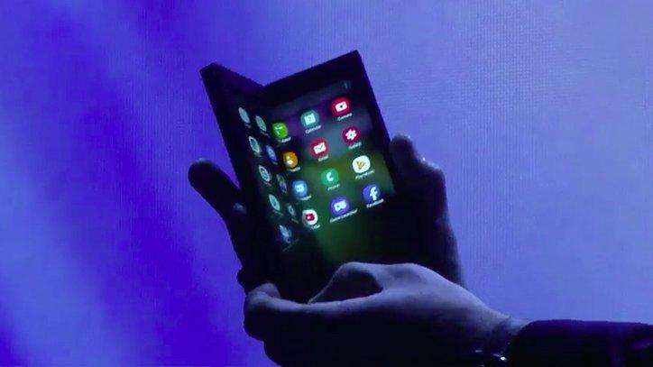 Samsung Galaxy X: أول هاتف قابل للطي