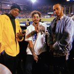 Touchdown views with Post and @YG 🏈🔥 @PostMalone