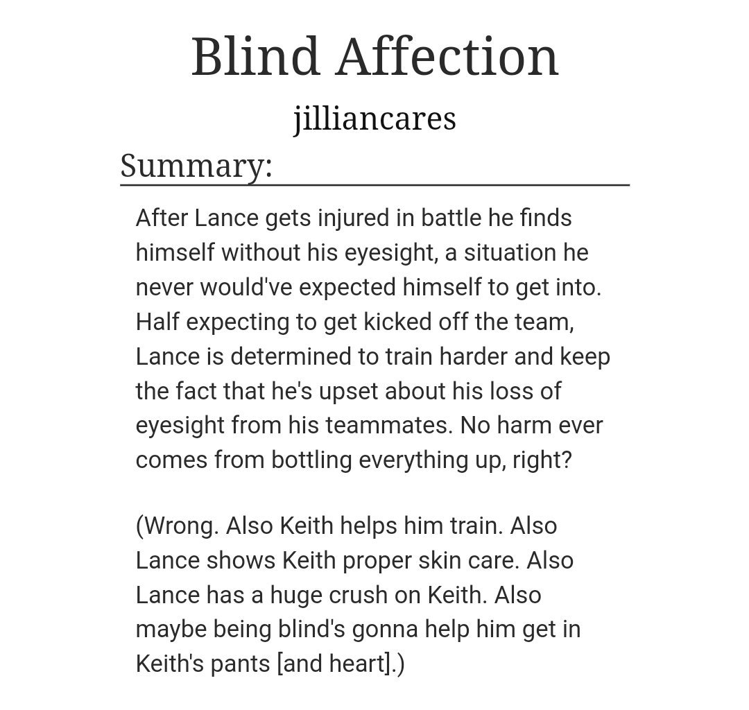 daily klance fanfiction (@dailyklanceff)   Twitter