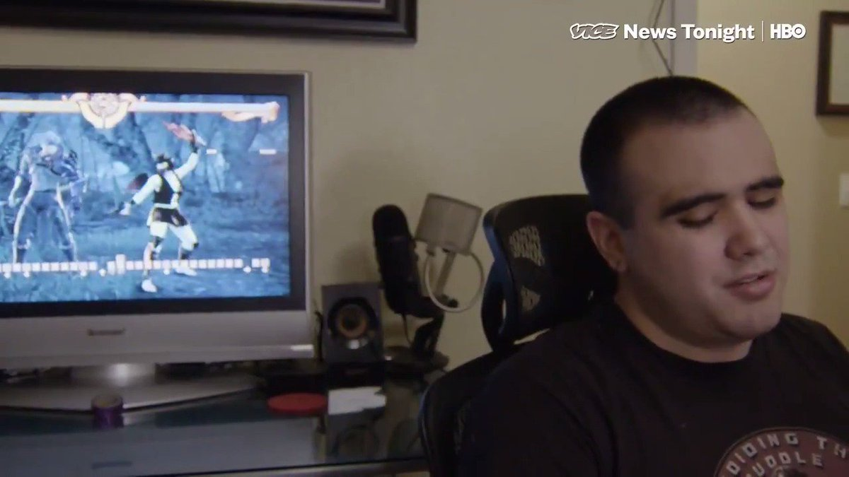 This story is amazing.   Michael Espinoza could probably beat you at video games. He's also blind.