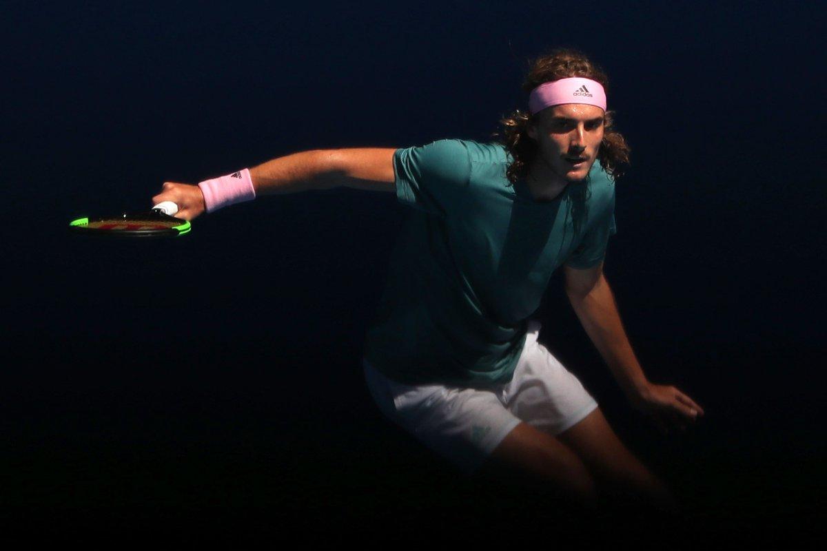 🔥 @StefTsitsipas eyeing a #Federer and #Nadal double upset 🔥 https://t.co/IpW2zVMANh  #ATP #AusOpen