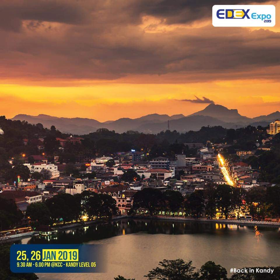 EDEX is back in KANDY. Visit Kandy City Center on 25th, 26th Jan to pursue all your higher educational dreams  #EE2019 #BackinKandy #kandyevents #highereducation