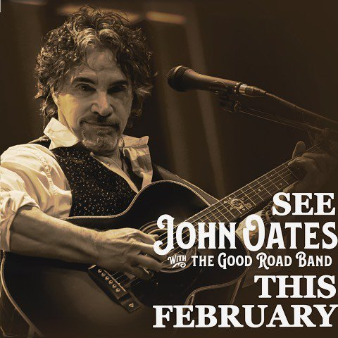 Hey, Houston and Dallas! Catch John Oates & The Good Road Band at @theheightstheater and @kesslertheater this February. See you there! http://bit.ly/2FUT5ow