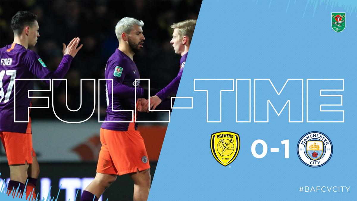 Man City-Burton