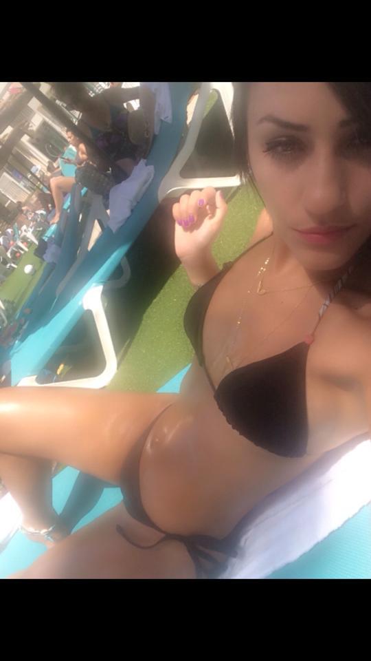 Bikini selfie teen