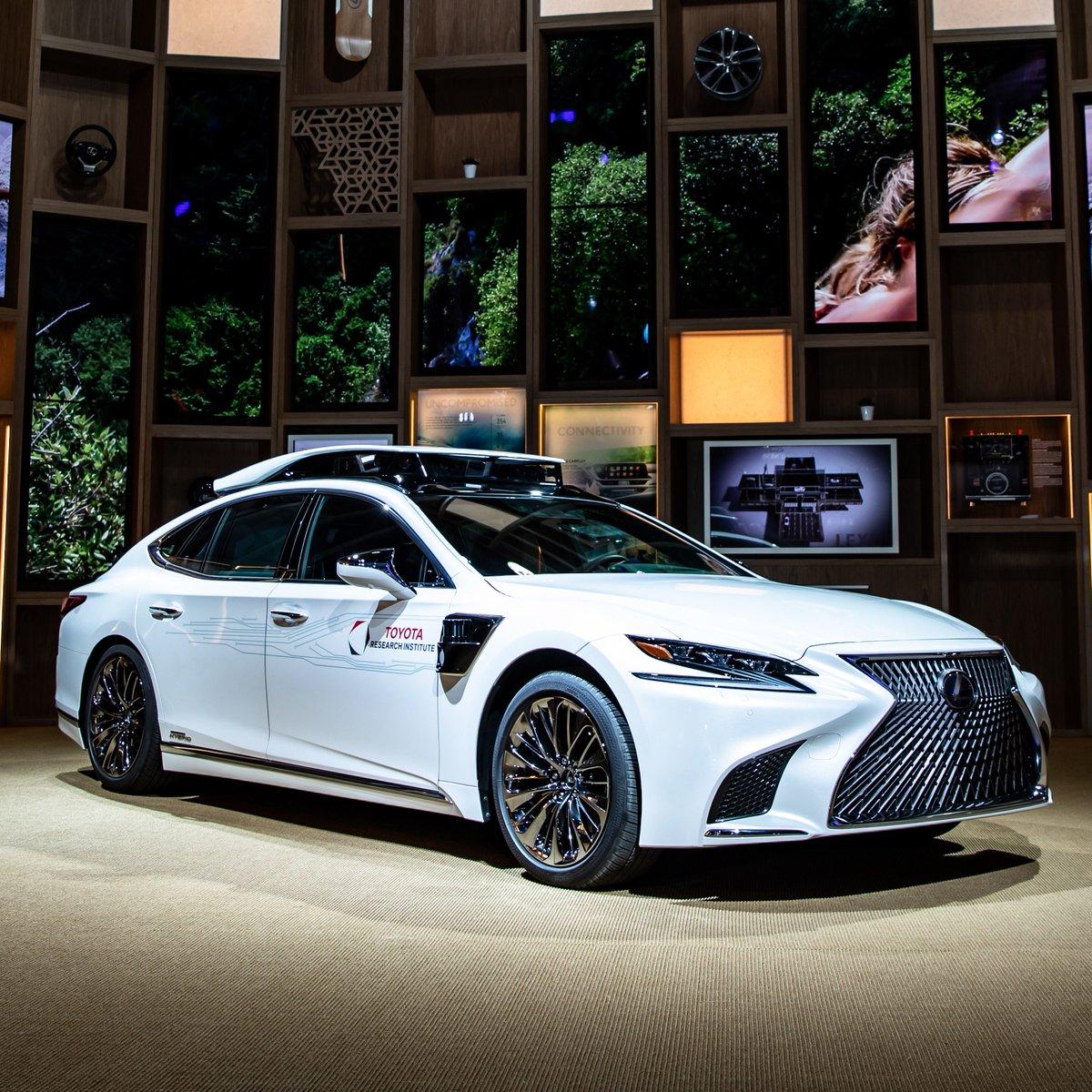 Lexus On Twitter The All Powerful Lexusls Made Autonomous Toyota