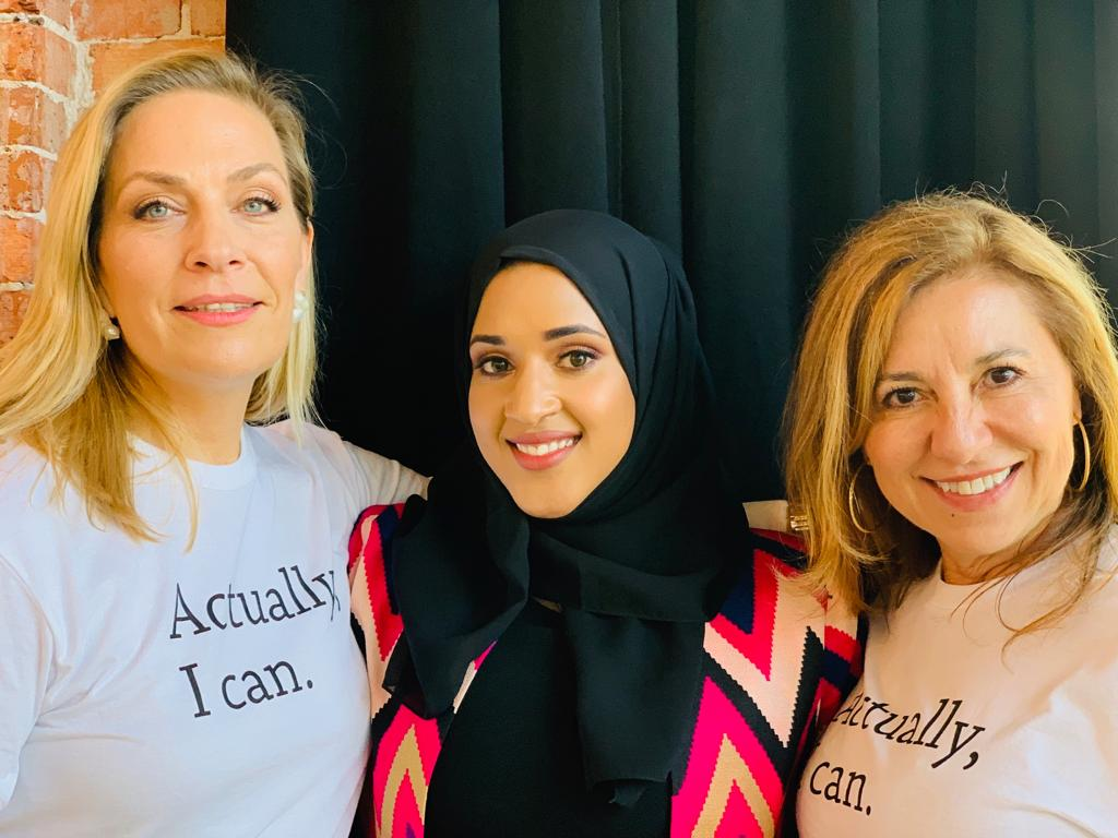 I was privileged to speak to hundreds of women changemakers at The Women Ambassadors Forum event held in @Tampa_Florida about @Weforshe_ and the need to normalize the menstruation agenda so that it becomes a collective responsibility, for both men and women.
