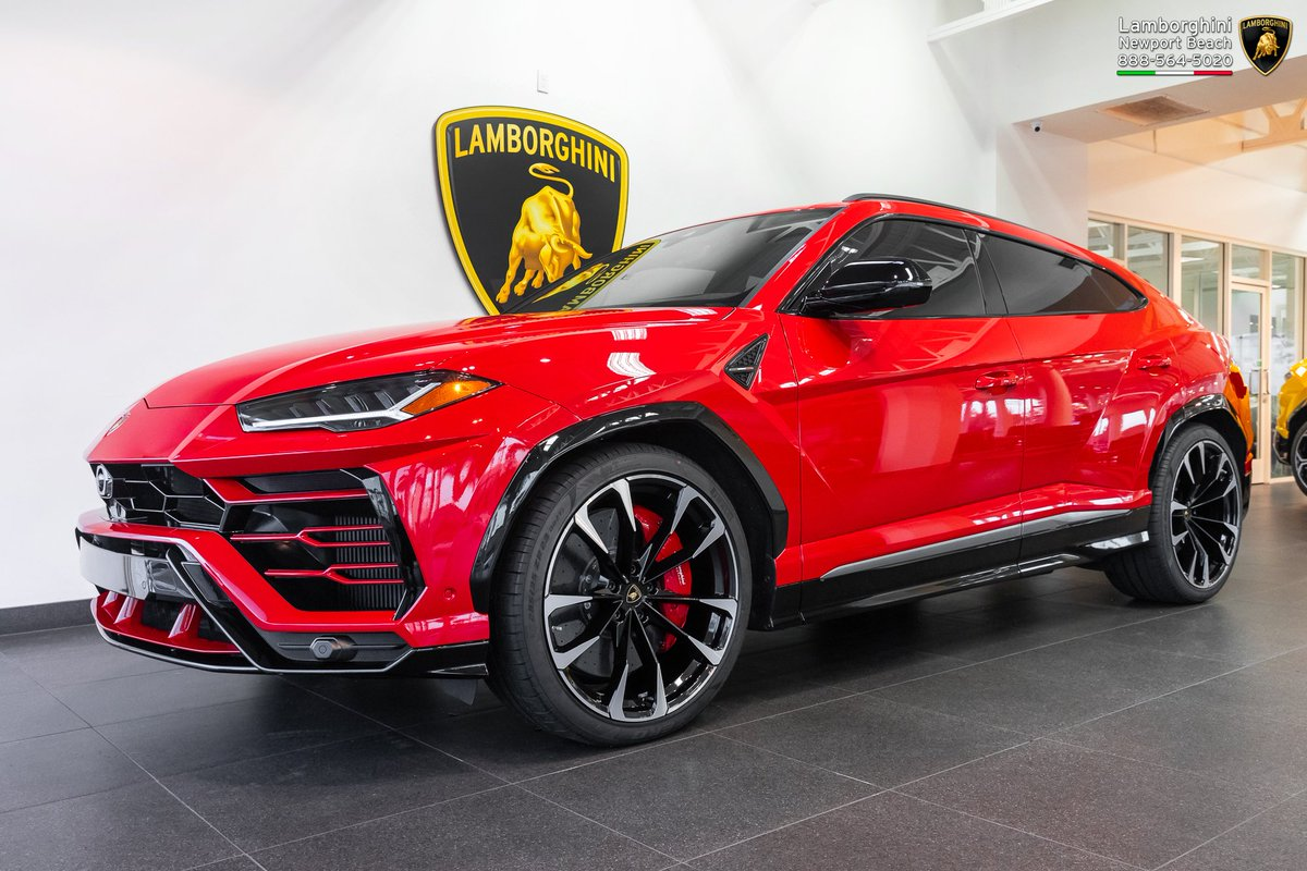 Lambo Newport Beach On Twitter We Re Excited To Share That Our Sales Manager Jeremy Hagen Has Sold This Gorgeous New Lamborghini Urus To His Vip Clients This Red Over Black Combo Works
