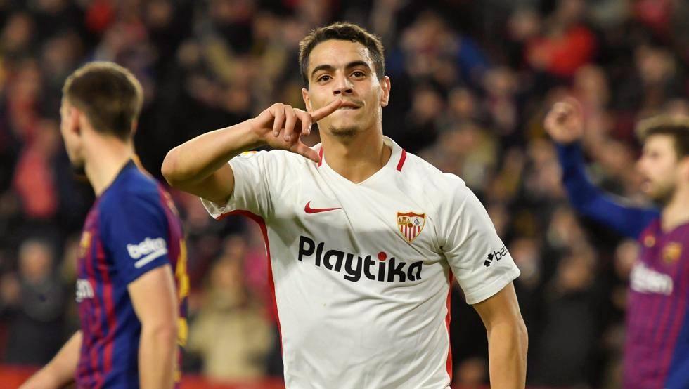 أهداف مباراة إشبيلية وبرشلونة 2-0 في كأس ملك إسبانيا