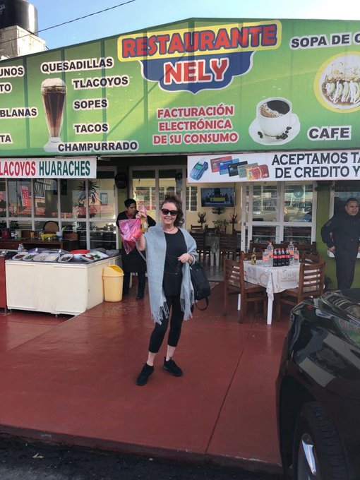 1 pic. Enjoying a few moments off with @vincentniclo and Alison Butler in sunny Mexico! Puebla, see you