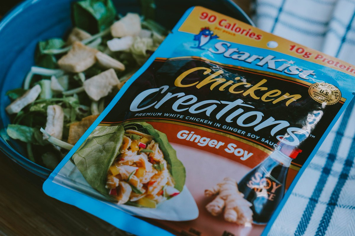Get inspired to power up with lean protein, courtesy of #StarKistChickenCreations pouches! 🥗💪