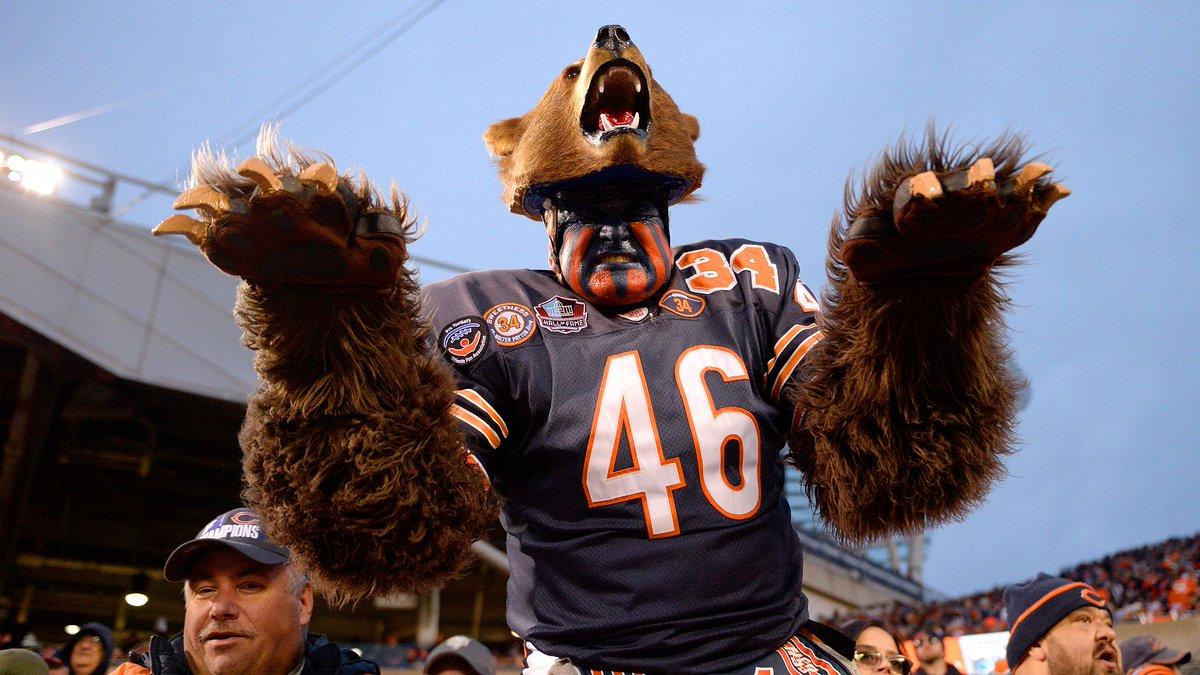 Chicago Bears @ChicagoBears