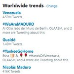 @marcorubio Meanwhile #WeAreMADURO and #YankeeGoHome are trending across the world. Humanity has had enough of your regime change wars, Little Marco. It's time to listen to the people.