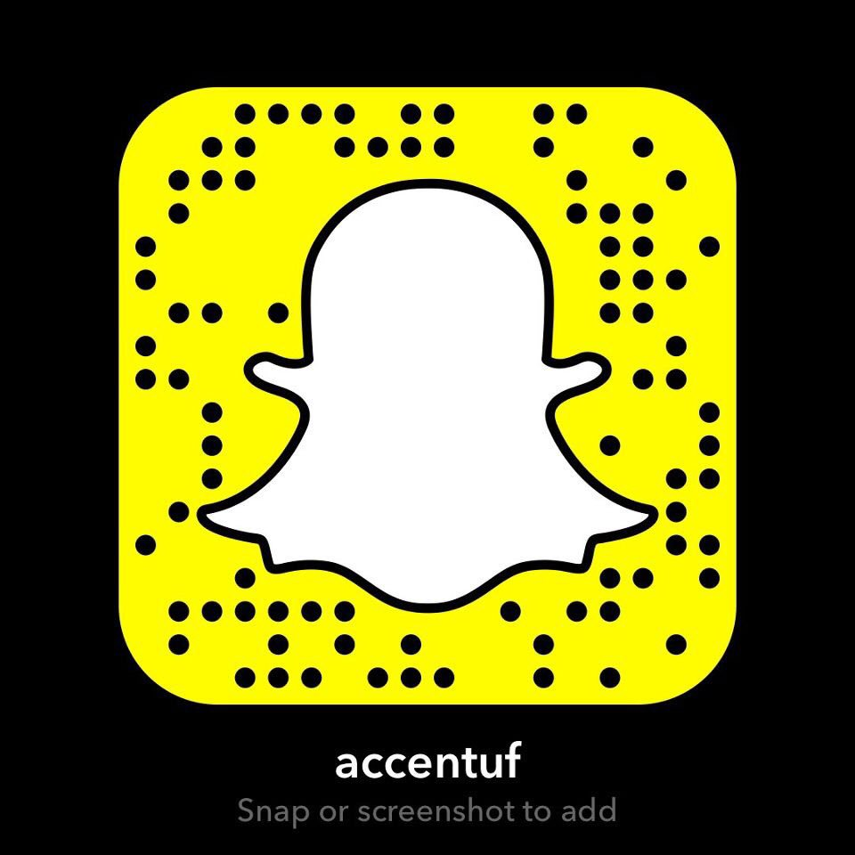 Don't forget to add us on Snapchat!