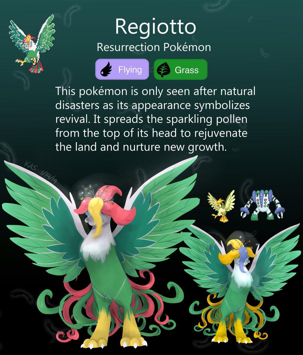 stardustlily03 It arises  #pokemon #nintendo #pokefusion