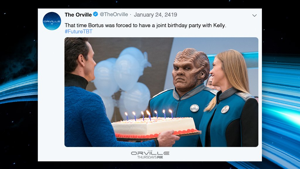 the orville bortus
