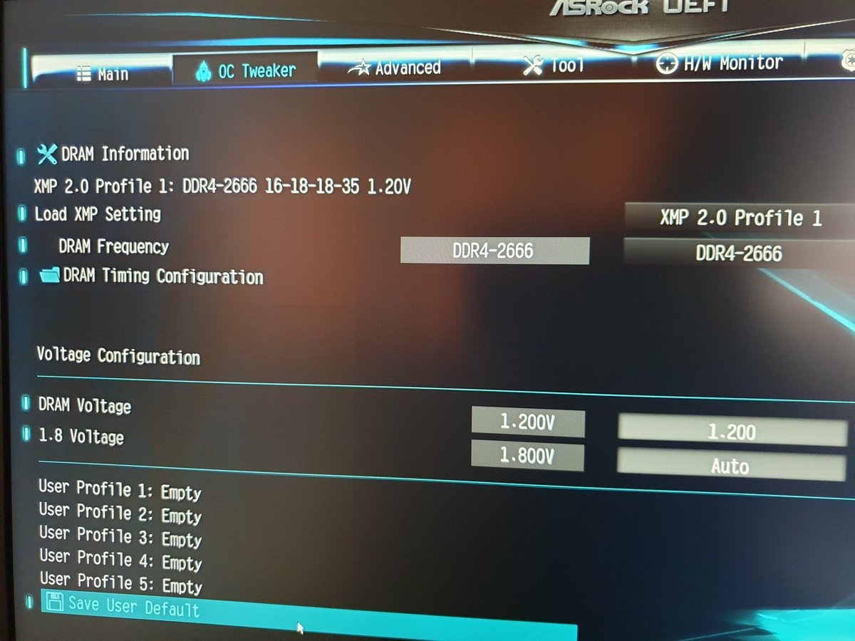 SOLVED] - Overclocking RAM Frequency DDR4 2666 | Tom's Hardware Forum